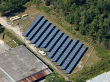500 KW solar PV project located in Gainesville, FL
